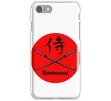 Japanese Katana and Kanji for Samurai iPhone Case/Skin