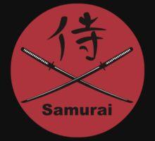 Japanese Katana and Kanji for Samurai by sweetsixty