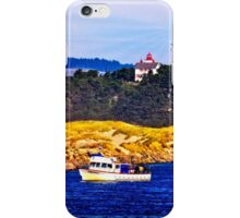 Newport Oregon - View From Yaquina Bay Jetty iPhone Case/Skin