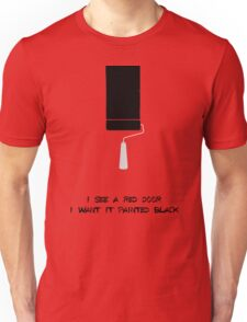 paint it black Unisex T-Shirt