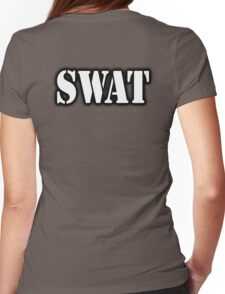 AMERICAN, SWAT, Special Weapons and Tactics Teams, Military  Womens Fitted T-Shirt