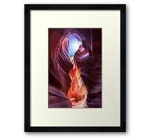 Antelope Canyon in Page, Arizona Framed Print