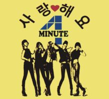 ♥♫SaRangHaeYo(Love) Hot Fabulous K-Pop Girl Group-4Minute Cool K-Pop Clothes & Phone/iPad/Laptop/MackBook Cases/Skins & Bags & Home Decor & Stationary♪♥ One Piece - Short Sleeve