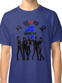 ♥♫SaRangHaeYo(Love) Hot Fabulous K-Pop Girl Group-4Minute Cool K-Pop Clothes & Phone/iPad/Laptop/MackBook Cases/Skins & Bags & Home Decor & Stationary♪♥ Classic T-Shirt