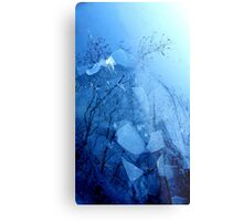 A different Perspective.........Icy Lake Metal Print
