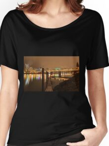 Landscape of Portland, Oregon, USA Women's Relaxed Fit T-Shirt