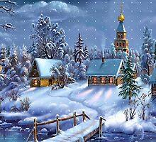 Winter Scene by misskris766