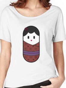 Red Geisha  Women's Relaxed Fit T-Shirt