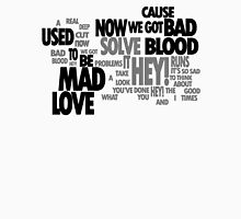 Lyric Cloud - Bad Blood Unisex T-Shirt
