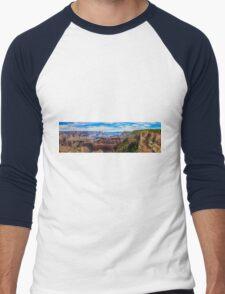 Beautiful Image of Grand Canyon Men's Baseball ¾ T-Shirt