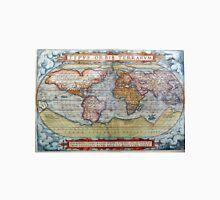 Colorful Antique Vintage World Map Ortelius Unisex T-Shirt
