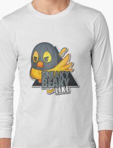 """Sneaky Beaky Like""   HUGE  WHITE BACKGROUND   CSGO   Logo   High Quality Long Sleeve T-Shirt"