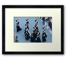 Dancing in the street Framed Print