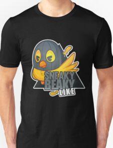 """Sneaky Beaky Like""   HUGE   BLACK BACKGROUND   CSGO   Logo T-Shirt"