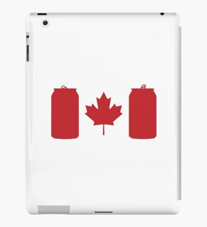 Beer Can-ada iPad Case/Skin
