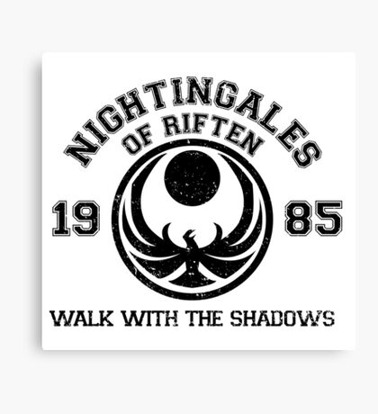 Nightingales of riften Canvas Print