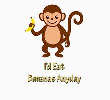Cheeky Monkey Banana Design  Unisex T-Shirt