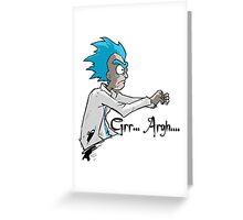 RICK n MORTY Greeting Card