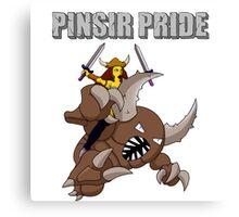 Pinsir Pride (Pokémon/Simpsons) Canvas Print