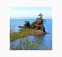 Rock and Tree...off Hwy 101, Newport, Oregon Unisex T-Shirt