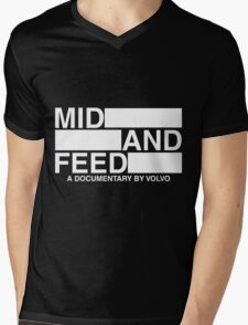 Mid and Feed Mens V-Neck T-Shirt