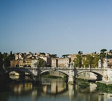 Rome and the Tiber by PatiDesigns
