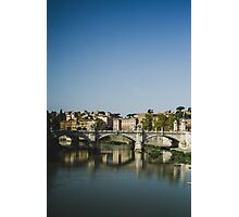 Rome and the Tiber Photographic Print