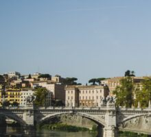 Rome and the Tiber Sticker