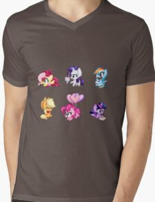 Hearts n Hooves Mens V-Neck T-Shirt