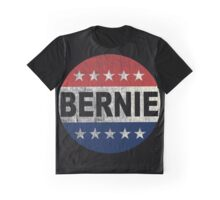 Bernie 2016 Shirt - Retro Bernie Sanders Vote Button T Shirt  Graphic T-Shirt