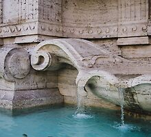 Details Of A Fountain by PatiDesigns