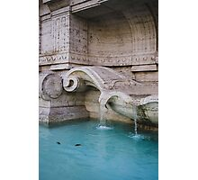 Details Of A Fountain Photographic Print