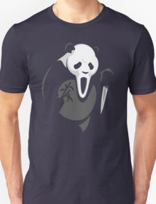 Offensive Scream Scary Panda T-Shirt