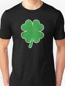 Vintage Four Leaf Clover  Unisex T-Shirt