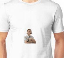 Matthew Gray Gubler holding a puppy Unisex T-Shirt
