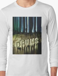 The Drums//The Drums Long Sleeve T-Shirt
