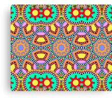 Indian Geometric Pattern Canvas Print