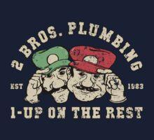2 Bros Plumbing One Piece - Long Sleeve