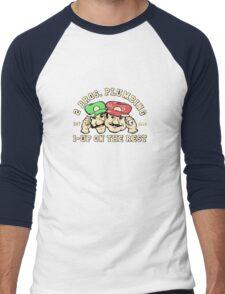 2 Bros Plumbing Men's Baseball ¾ T-Shirt
