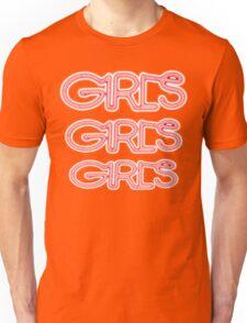 Girls! Girls! Girls! 3X Bright Unisex T-Shirt