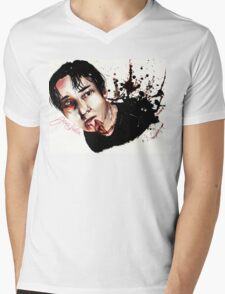 Glenn Mens V-Neck T-Shirt