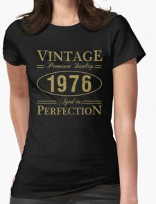 Born In 1976 Gag Gift Womens Fitted T-Shirt