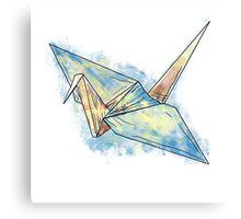 Suru Crane Canvas Print