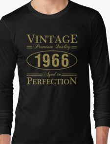 Born In 1966 Gag Gift Long Sleeve T-Shirt