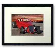 1933 Ford Roadster I Framed Print