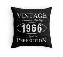 Born In 1966 Gag Gift Throw Pillow