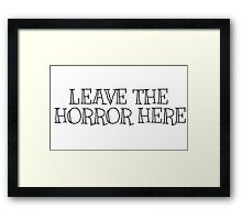 The Foals Pc Game Lyrics Song Framed Print