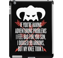 99 Arrows iPad Case/Skin