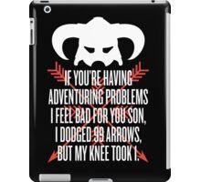 99 Arrows iPad Case/Skin