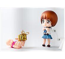 Mako wants presents too. Poster